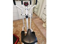 Davina McCall cross trainer