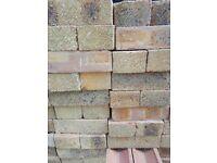 Ironstone Yellow bricks unused