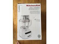 Kitchen aid 3.1 L classic food processor new