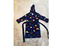 Joules Boy Dressing Gown 5-6yrs