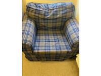 **FREE** IKEA Armchair & matching footstool