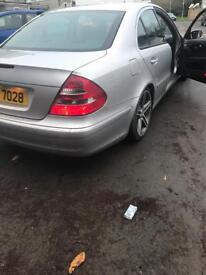 Mercedes e class 2004 270 cdi 6 speed manual