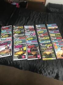 Job lot carp fishing magazines