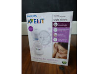 Philips Avent Single Electric Breast Pump, Bottles & Steriliser