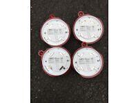 Xp 95 optical smoke detector x 4 . Part no 55000-600apo . New unused