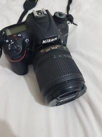 NIKON D7200 DSLR Camera with 18-105 mm f/3.5-5.6 VR Lens - Black + Accessories