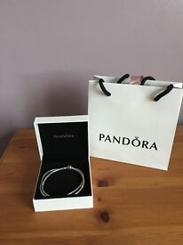 Pandora Necklace with clip