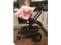 Bugaboo Chameleon 2 in soft pink with all extras