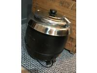 Soup kettle ideal for cafe or parties