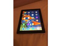 iPad 3 16gb WiFi + cellular. UNLOCKED. Excellent condition.hardly used. Come with case and charger