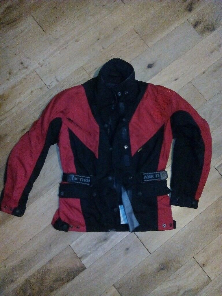 Ladies motorcycle jacket, gore tex, size small 10/12