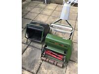 """Webb 14"""" Electric Cylinder Lawn Mower"""
