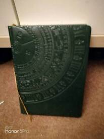 Year Diary English / Ukrainian + laminate paper for school notebook