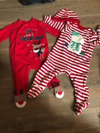 My 1st Christmas baby bundle