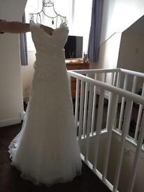 REDUCED stunning wedding dress 16/18/20