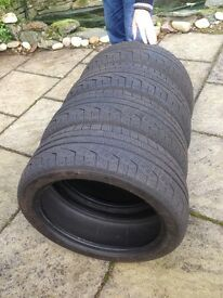 Winter Tyres (fit Mini Countryman) Pirelli sottozero winter tyres. 210 runflat 225/45 r18 91h m+s