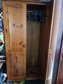 Pine wardrobe - free