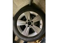 Mercedes Viano Alloys and Tyres