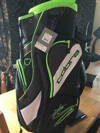 Gecko Black-Green TEC F6 Cart Bag (new)