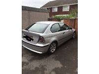 BMW 316 ti compact petrol auto silver in good condition selling as I'm wanting a newer car.
