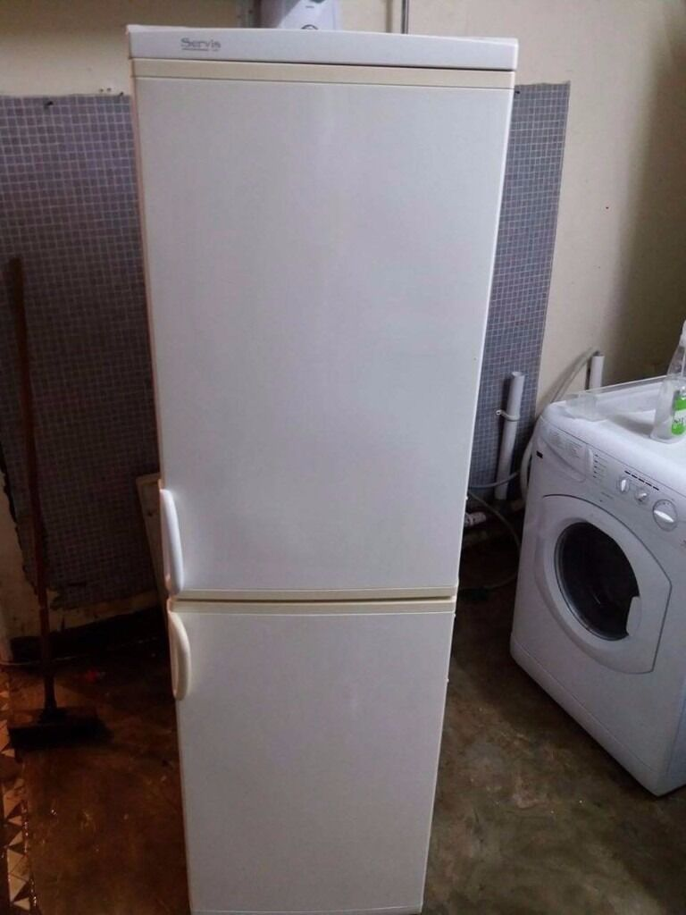 Servis Fridge Freezer With Free Deliveryin Plaistow, LondonGumtree - Servis Fridge Freezer With Free Delivery Deliver anytime and any day to London, Kent and Essex Working perfect and fully tested Size Height 170 cm Wide 55 cm Price 99.99 pounds Free Delivery within 5 mile 3 month warranty Free Removal for...