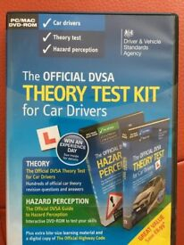 DVSA Official Theory Test Kit - New unused