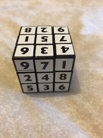 Soduku cube