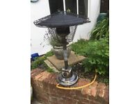 PATIO HEATER TABLE TOP (GAS)