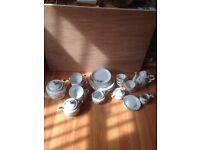 1950,s Tea and Coffee set Bone China