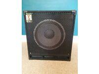 """Eden 115 XL bass speaker cabinet 400W with 15"""" speaker"""