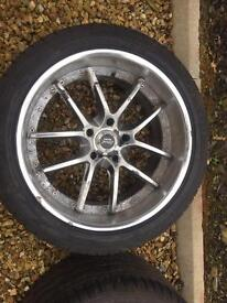 Alloy wheels Nissan skyline