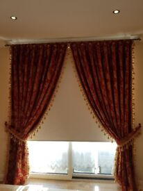 Curtains (Beautiful Victorian Curtains for sale)