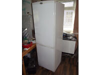 Big White Family Fridge Freezer in Good Condition And A Bargain!