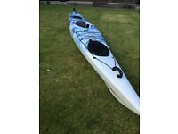 Sea kayak. 4.5m with rudder and two large watertight compartments