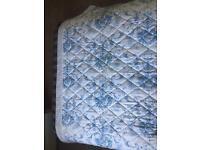 Dorma 'Toile Blue' Dunelm Throw