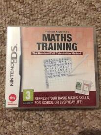DS Maths Training game