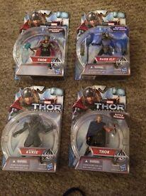 Thor marvel toy figures