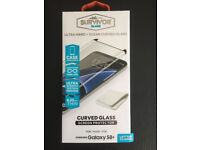 Original Griffin Survivor Curved Glass Screen Protector for Galaxy S8+