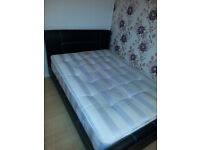 Double Bed with Free Mattress