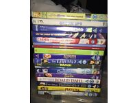 17 kids dvd's all fully working