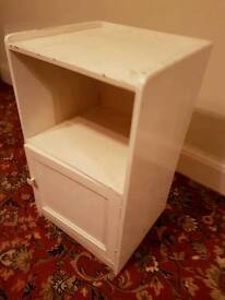 Wooden Bedside Table - Ideal to shabby