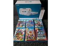Wii u and 6 mario games