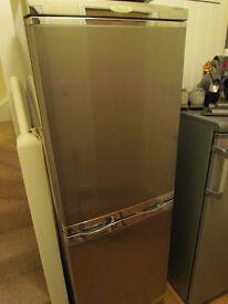 silver servis fridge freezer
