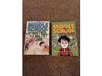 2X MIDDLE SCHOOL JAMES PATTERSON BOOKS