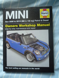 Haynes MINI Workshop Manual 4904 (06-13)