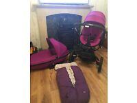 Quinny Moodd Violet Focus Travel System