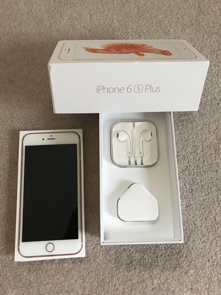 iPhone 6s Plus 64GB rose gold VODAFONE