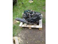 Peugeot speedfight 3 complete engine
