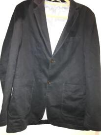Navy Howick Men's Blazer - suitable for Large size