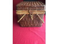 Picnic basket with accessories , as new £20